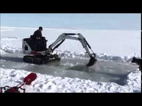 Ice Dredging 2011, Nome, AK
