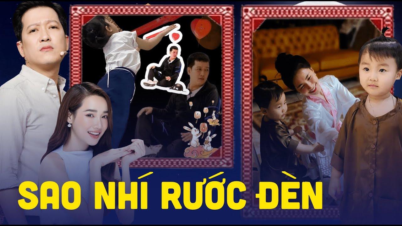 Trường Giang, Nhã Phương, Hòa Minzy và loạt sao Việt tổ chức Trung Thu dễ thương cho con