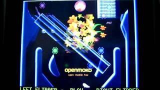 Linball (Linux Pinball) game on Openmoko Neo