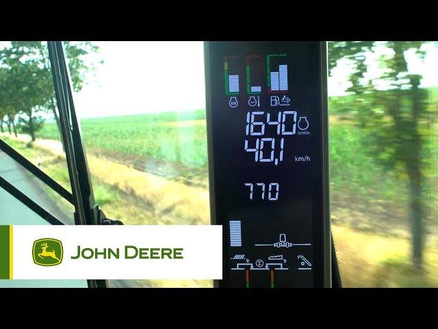 S700 #4 La moissonneuse-batteuse automatisée ProDrive 40kmh