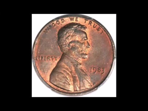 1983 COPPER TRANSITIONAL PENNY - PROFITING FROM THE U.S. MINT