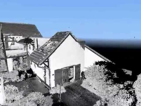 3D Laser Scan eines Bauernhauses / conap GmbH