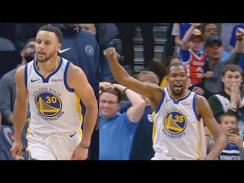 Stephen Curry Shocks Entire Crowd With Kevin Durant After Insane Shots! Warriors vs Timberwolves
