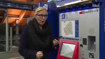 So funktioniert der neue SBB-Ticketautomat