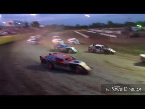 "Salina Speedway CSR Mfg. IMCA Northern SportMods ""A Feature"" 7-27-18"