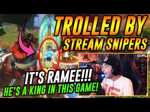 Summit TROLLED by STREAM SNIPERS!!! Finds out Ramee is A GOD on Guild Wars 2