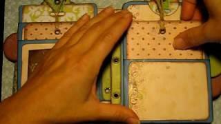 Chicago Mini Envelope Scrapbook