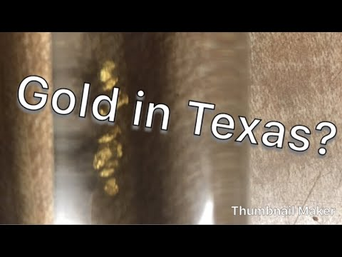 Looking For Gold In Texas