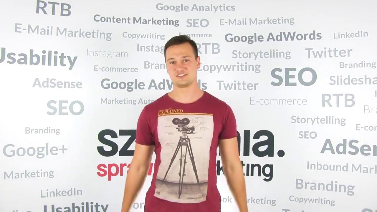 Szkolenie Google Analytics – opinia Mariusz Bacic