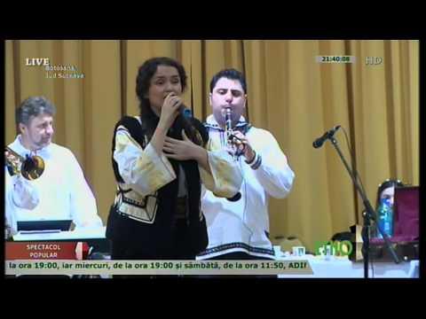 Angelica Flutur la Balul Gospodarilor Botosana 27.02.2016