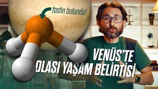 Venüs'te olası yaşam belirtisi sayılan fosfin bulundu!
