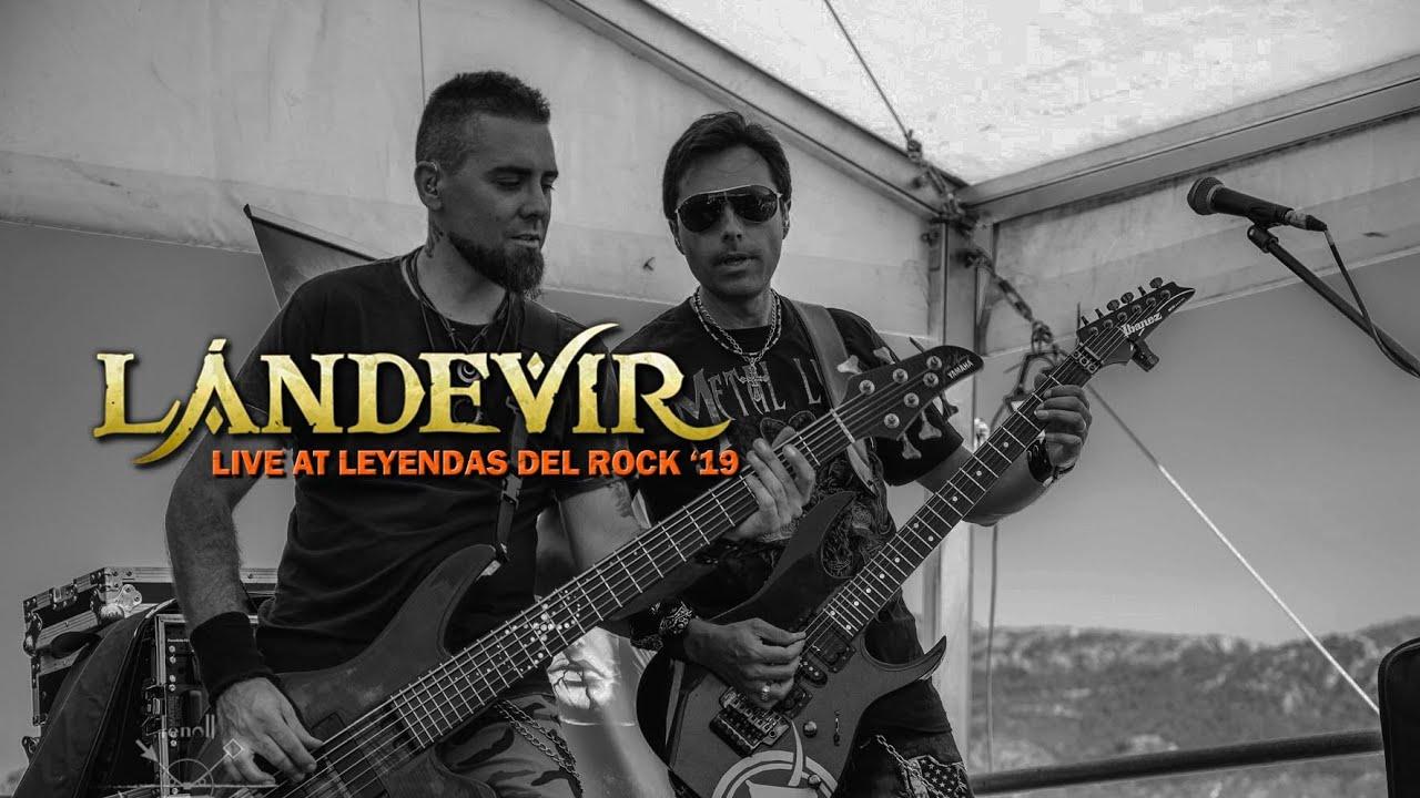 """LÁNDEVIR """"Bodas de Sangre"""" (Videoclip - Leyendas del Rock 2019)"""