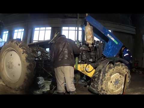Ремонт  трактора мтз 82