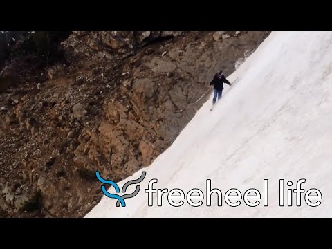 Summer skiing with freefloski - grande motte, tignes