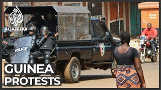 Guinea protests: Anti-government demonstrations continue