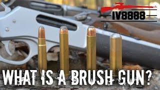 What is a Brush Gun?