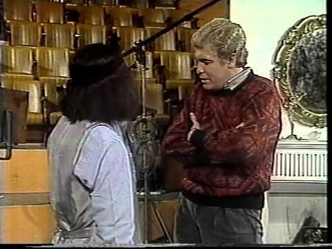 DANY MARTIN junto a Mario Sánchez. 1985. Programa