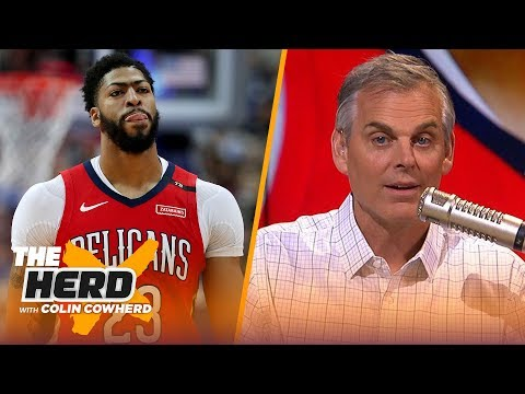 AD's plans are going to dictate this offseason & Colin Cowherd defends Magic | NBA | THE HERD