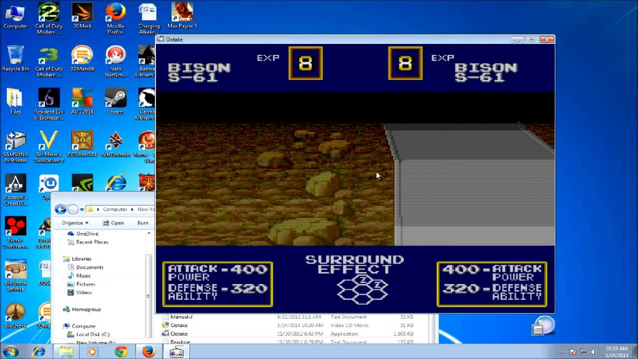 Ootake PC-Engine Emulator Quick Tutorial