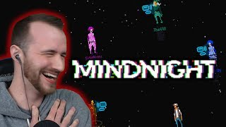 LAUGHING WHILE THEY ARGUE! | Mindnight with FACECAM