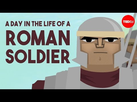 Video image: A day in the life of a Roman soldier - Robert Garland