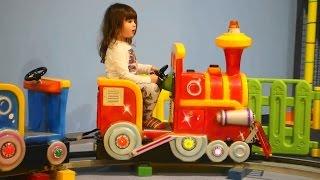 Kids choo-choo train toy