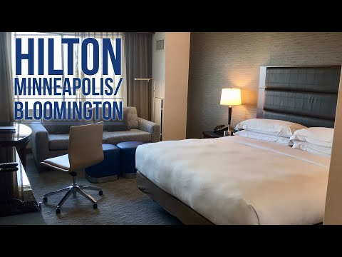 Hilton Minneapolis/Bloomington Hotel Room: Near The Mall of America, Minnesota