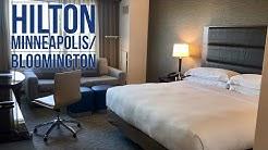 Hilton Minneapolis/Bloomington Hotel Room: Near The Mall of America, Minnesota
