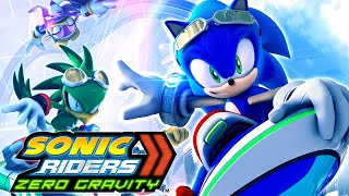 Sonic Riders: Zero Gravity (Wii) 60fps Longplay