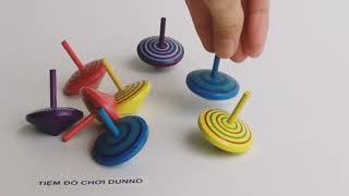 Đồ chơi Con Quay Gỗ (4 màu)