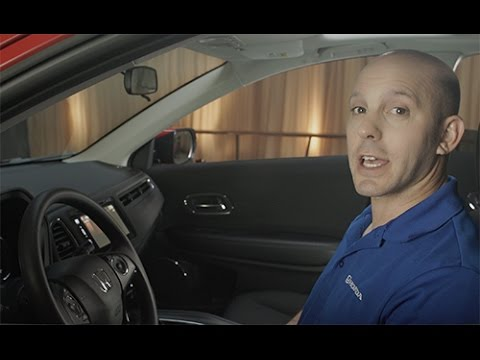 2016 Honda HR-V Tips & Tricks: Electronic Parking Brake Button