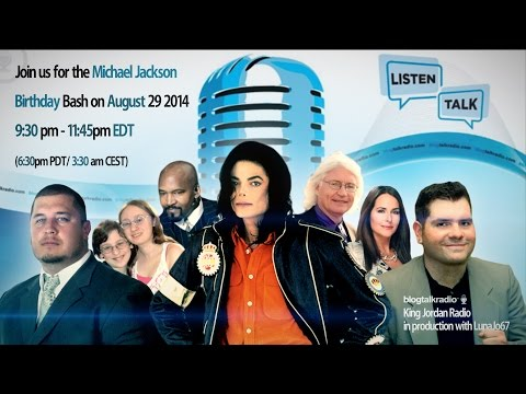 Impression Michael Jackson Birthday Bash at King Jordan Radio!