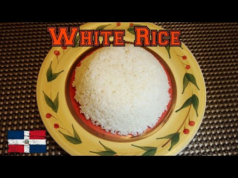 White Rice (Dominican Style)
