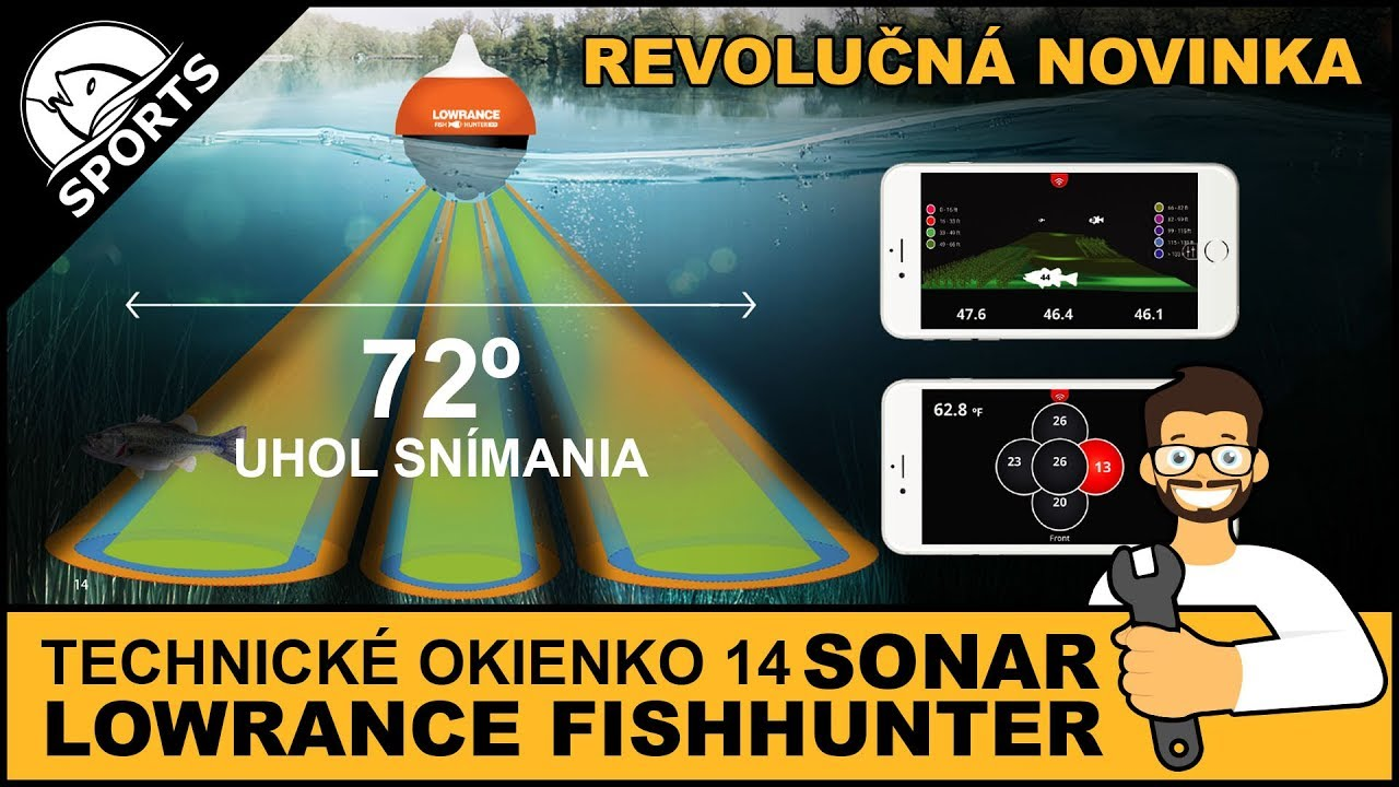 539db1979 TECHNICKÉ OKIENKO (14): Nahadzovací sonar Lowrance FishHunter 3D (obj. č.  456 601) - YouTube