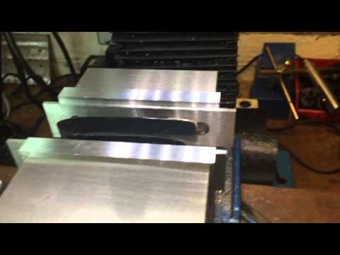 A great way to hold your parallels up. On milling machine