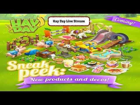 Hay Day Live Stream - Sneak Peeks Images, Update Info, Chat and Play