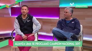 Al Ángulo: Daniel Peredo y Pedro García analizan el título de Alianza Lima 2017