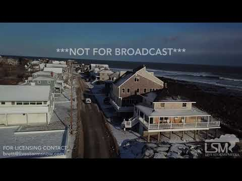 01-05-2018 Scituate, MA arial drone clips