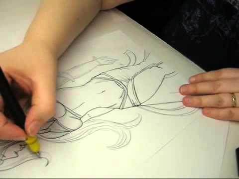 Nackte menschen zeichnen