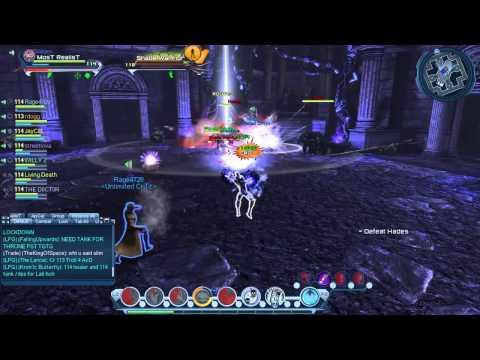 DCUO Defeat Hades Tr6 Raid Last Boss