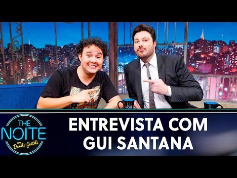 Entrevista com Gui Santana  The Noite 130519