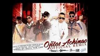 Ojitos Achinao - Nova Feat. Ñengo Flow, Guelo Star, Julio Voltio, Jay-D & Magix (Remix) (Letra)