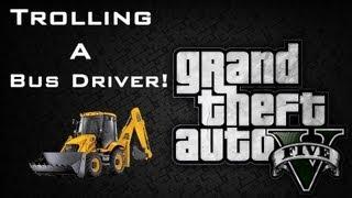 Trolling a Bus Driver! - GTA V (Gameplay)