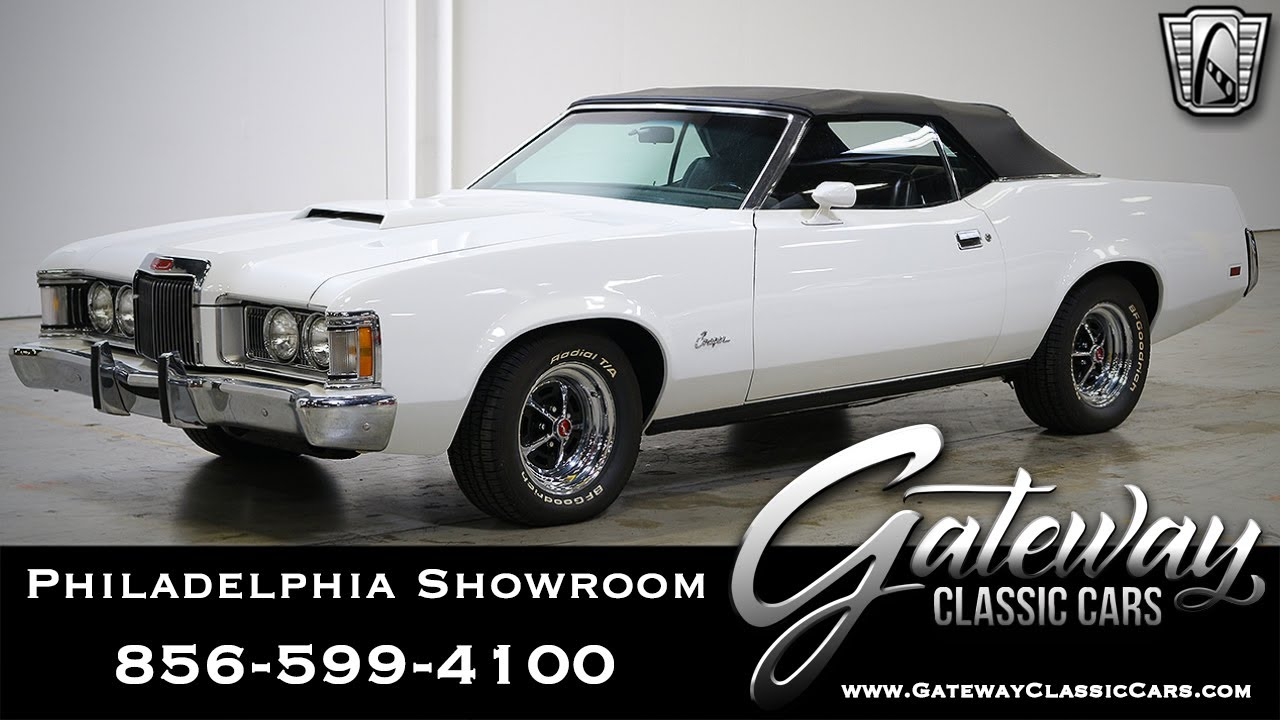 1973 mercury cougar, gateway classic cars - philadelphia #543