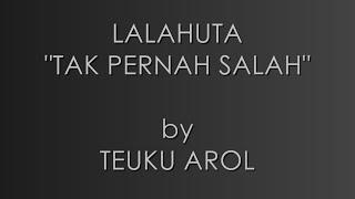 Lalahuta - Tak Pernah Salah // Acoustic Guitar Cover / Karaoke / Instrumental //