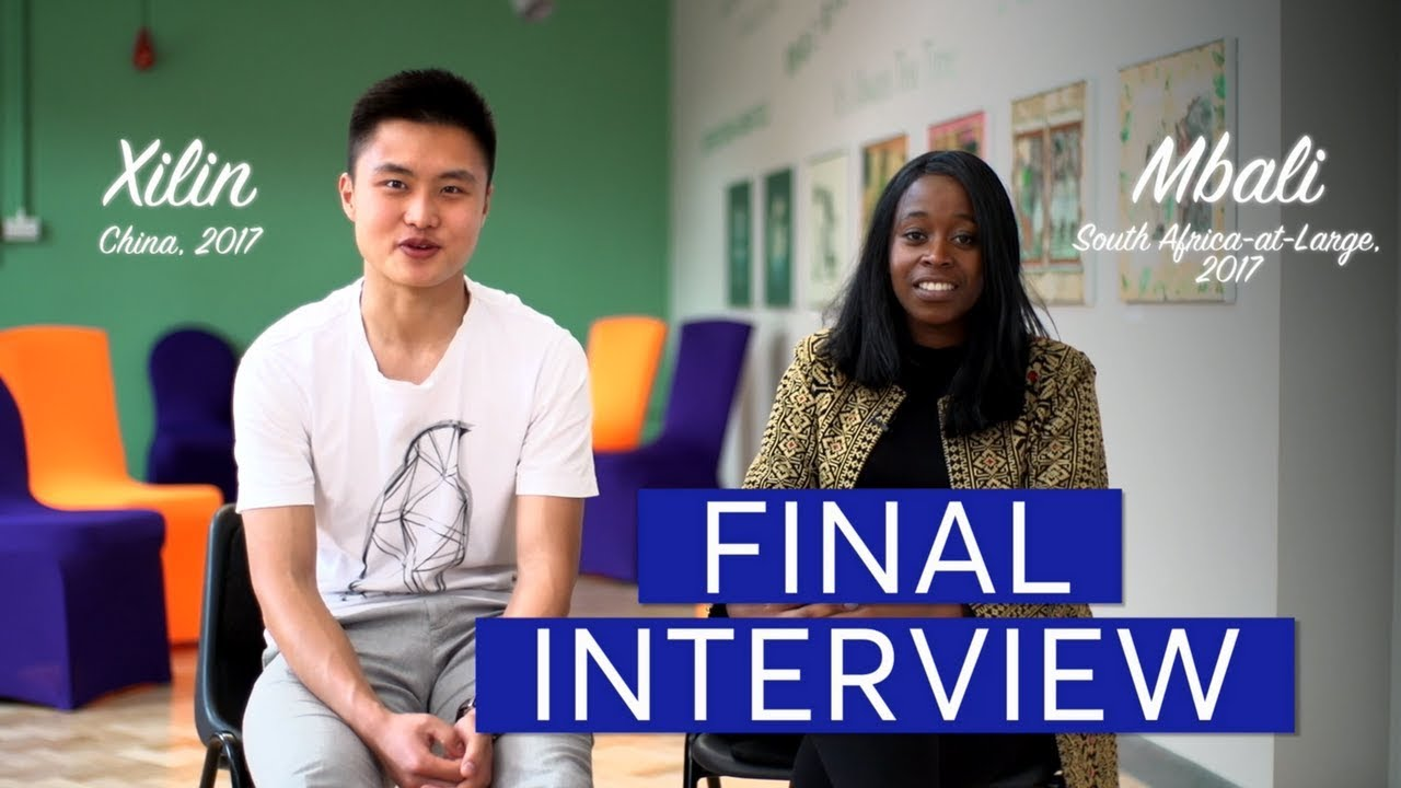 Final Interview - Rhodes Scholarship Admissions Playlist