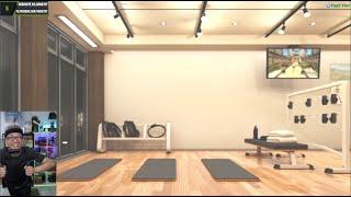 LIVE Đến phòng gym RingFit buổi chiều nâng cao sức khỏe