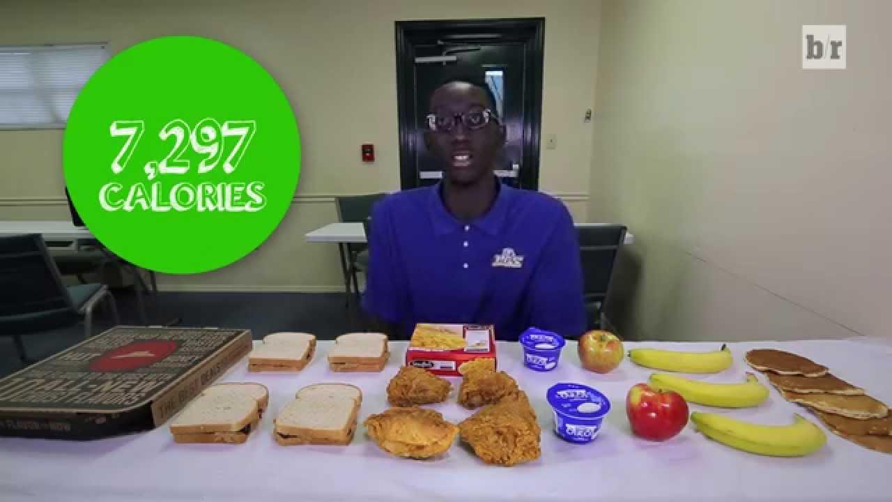 7-Foot-6 Recruit Tacko Fall Eats 7,300 Calories a Day ...