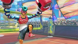 5 Minutes Of ARMS Volleyball (60 FPS) Nintendo Switch