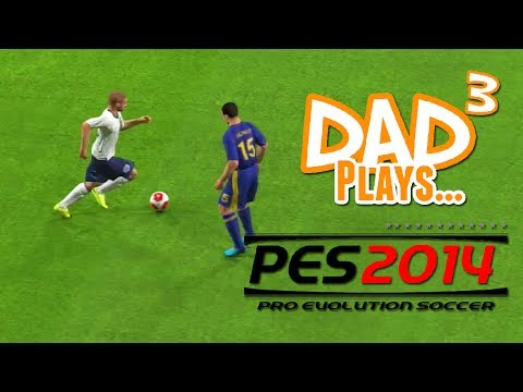 Dad³ Plays Pro Evolution Soccer 2014